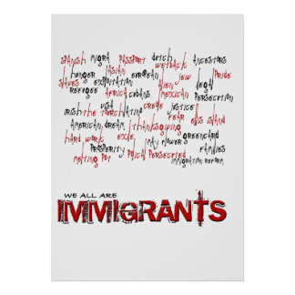 INMIGRANTES PÓSTER