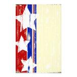 Inmóvil de madera patriótico  papeleria
