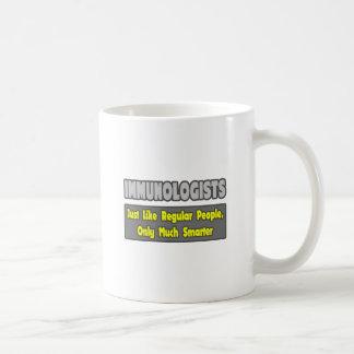 Inmunologistas… más elegantes taza de café