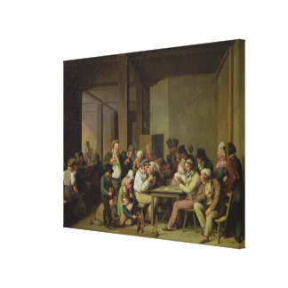 Inn Scene Canvas Print