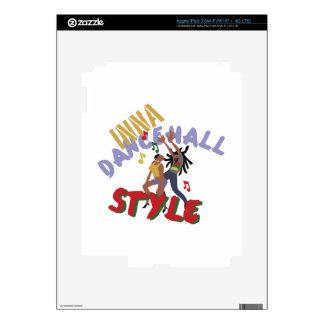 Inna Dancehall Style iPad 3 Skin