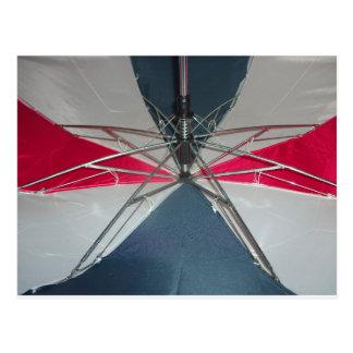 Innards del paraguas postal