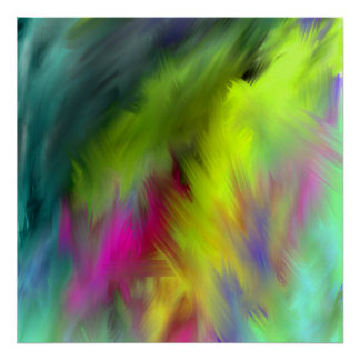 inner Ab44 vivid abstract art Poster