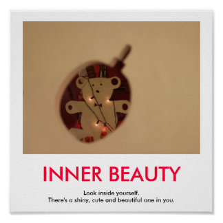 INNER BEAUTY demotivational poster