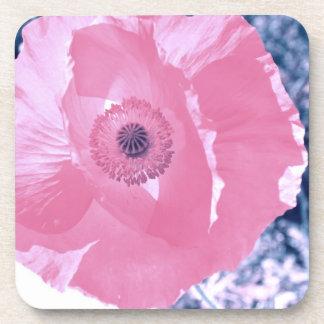 Inner Beauty Poppy Coaster Set