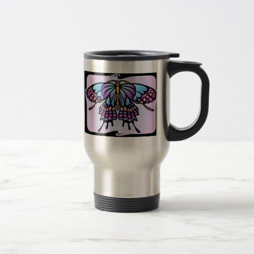 Inner Butterfly 15 Oz Stainless Steel Travel Mug