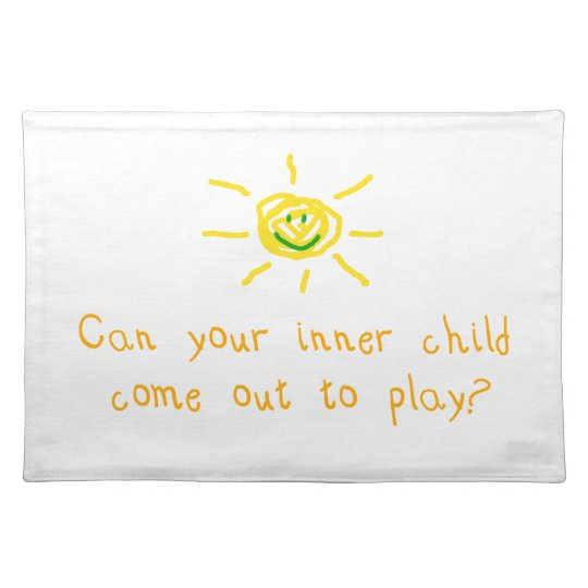 Inner Child Cloth Placemat