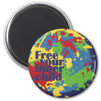 INNER CHILD custom button Magnet