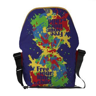 INNER CHILD custom messenger bag