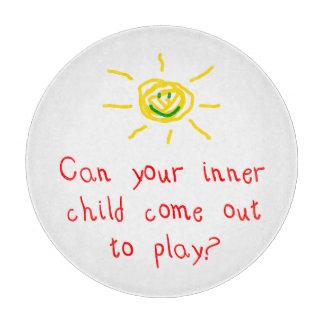 Inner Child Cutting Board