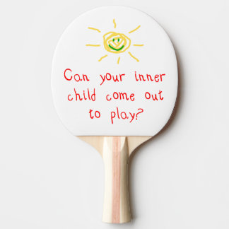 Inner Child Ping-Pong Paddle