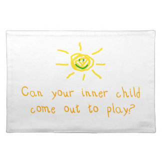 Inner Child Cloth Place Mat