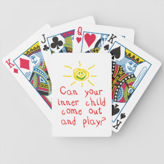 Inner Child Playing Cards