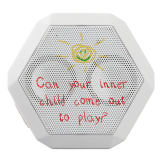 Inner Child White Bluetooth Speaker