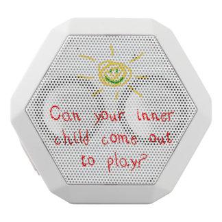 Inner Child White Boombot Rex Bluetooth Speaker