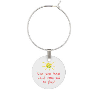 Inner Child Wine Glass Charms
