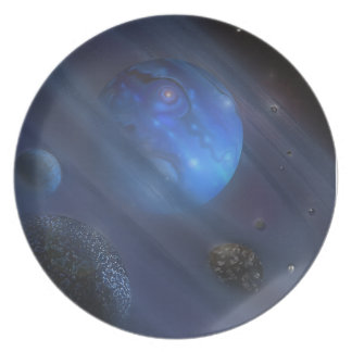 Inner Circle Cosmic Party Plate