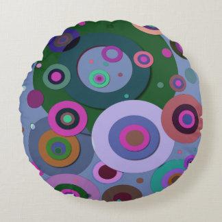 Inner Circles #11 Round Pillow