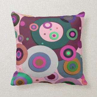 Inner Circles #12 Throw Pillow