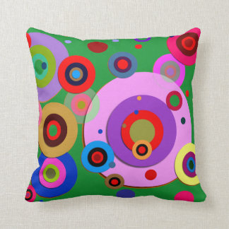 Inner Circles #1 Throw Pillow