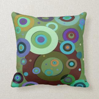 Inner Circles #9 Throw Pillow