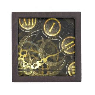 Inner Clock Works Jewelry Box
