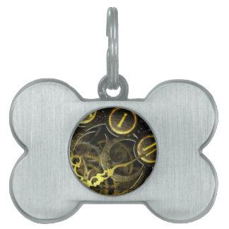 Inner Clock Works Pet Tag