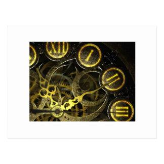 Inner Clock Works Postcard