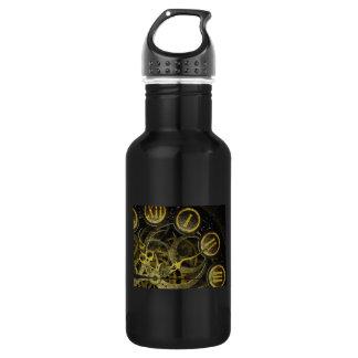 Inner Clock Works Stainless Steel Water Bottle