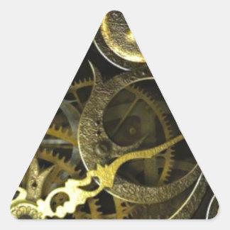 Inner Clock Works Triangle Sticker