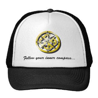 Inner Compass Baseball Cap Trucker Hat