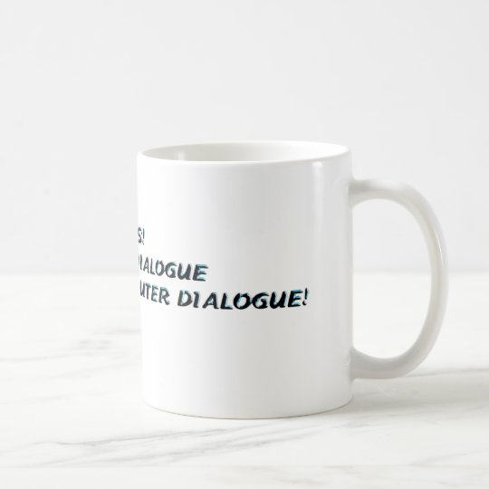 INNER DIALOGUE COFFEE MUG