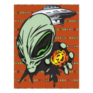 Inner Earth Aliens Flyer