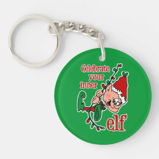 Inner Elf Keychain