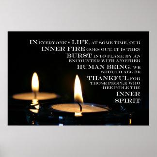 Inner Flame print