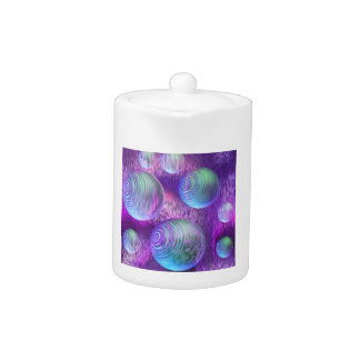 Inner Flow II - Abstract Indigo & Lavender Galaxy