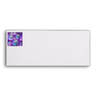 Inner Flow II - Abstract Indigo & Lavender Galaxy Envelopes