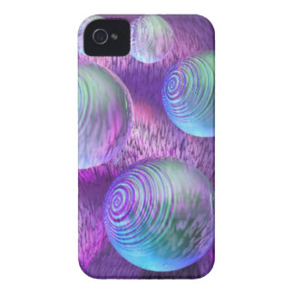 Inner Flow II - Abstract Indigo & Lavender Galaxy iPhone 4 Case-Mate Cases