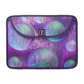 Inner Flow II - Abstract Indigo & Lavender Galaxy Sleeve For MacBook Pro