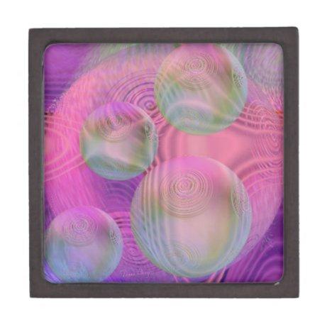 Inner Flow III – Fuchsia & Violet Galaxy Gift Box