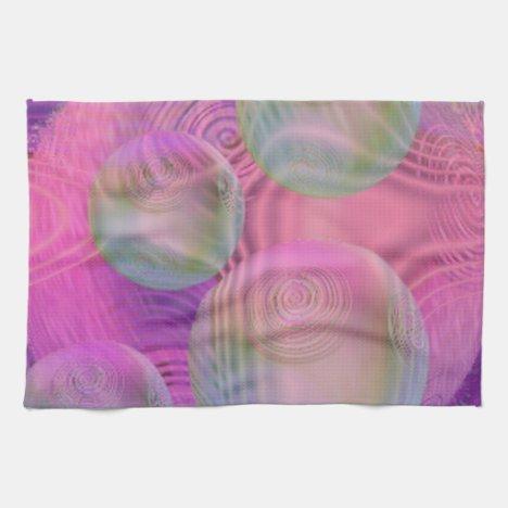 Inner Flow III – Fuchsia & Violet Galaxy Hand Towel