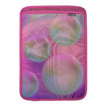 Inner Flow III – Fuchsia & Violet Galaxy Sleeves For MacBook Air