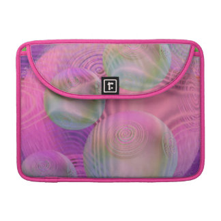 Inner Flow III – Fuchsia & Violet Galaxy MacBook Pro Sleeve