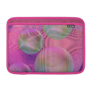 Inner Flow III – Fuchsia & Violet Galaxy MacBook Sleeve