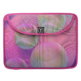 Inner Flow III – Fuchsia & Violet Galaxy Sleeve For MacBooks
