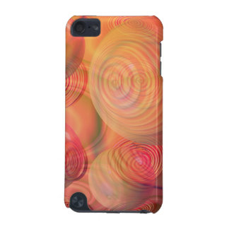 Inner Flow IV Fractal Abstract Orange Amber Galaxy iPod Touch (5th Generation) Cover