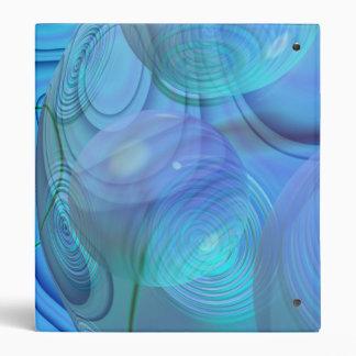 Inner Flow VI – Aqua & Azure Galaxy Binders