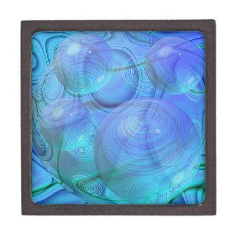 Inner Flow VI – Aqua & Azure Galaxy Gift Box