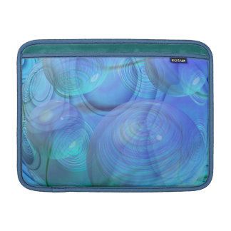 Inner Flow VI – Aqua & Azure Galaxy MacBook Air Sleeve