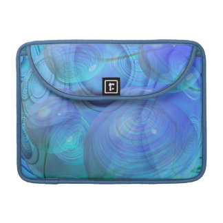 Inner Flow VI – Aqua & Azure Galaxy MacBook Pro Sleeve